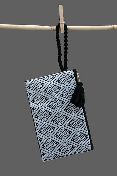 Bolsa Clutch perla