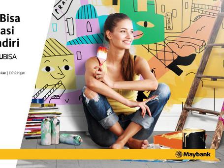 Maybank Millennial KPR Main KV Mockup