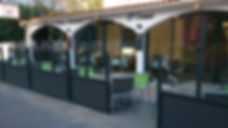 restaurant l'océanic - terrasse avant