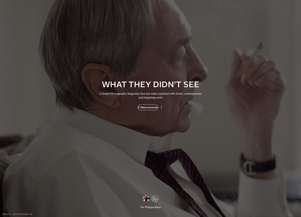 What They Didn't See, a Street Photography Magazine powered by Flipboard