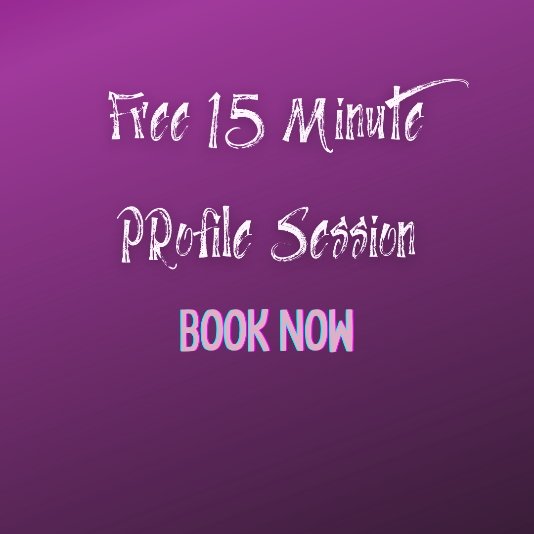 Complimentary 15 Minute Profile Session