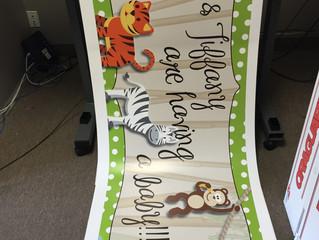 Baby Shower Banner!