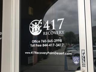WindowDecal - 417 Recovery, Palm Desert