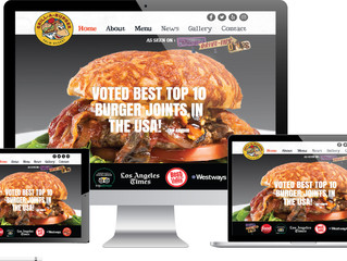 WEB LAUNCH!  Grill-A-Burger Palm Desert.