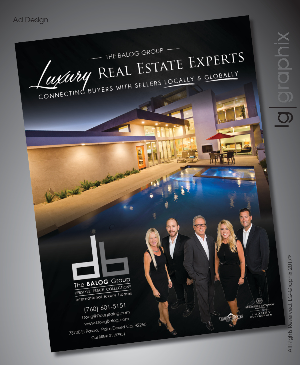 Palm Desert Ad Design