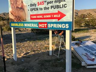 Sign Design & Install - Catalina Spa & RV Resort