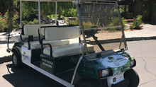 Golf Cart Wrap - The Lakes C.C.  On-Site Sales