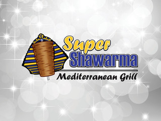 Logo Design - Super Shawarma Mediterranean Grill - Cathedral City, CA
