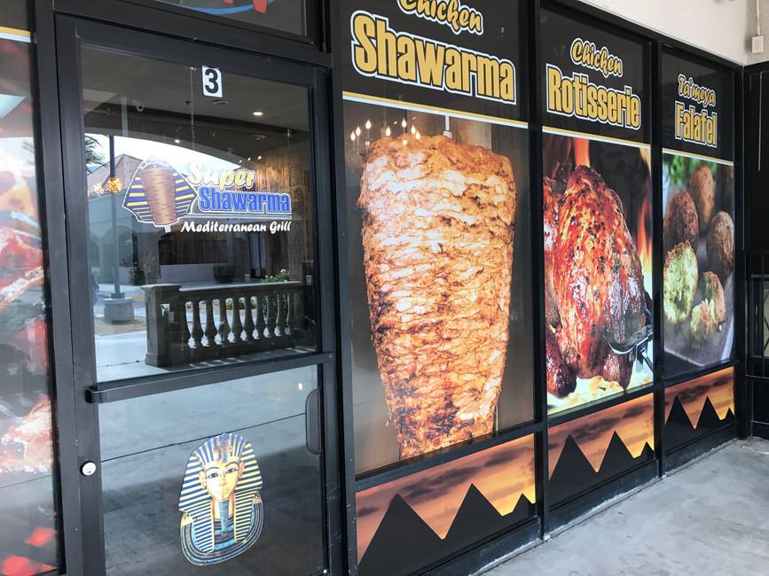 Storefront Window Perf