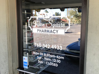 Window Graphics - Town Square Pharmacy