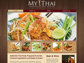 Website Launch for My Thai Restaurant