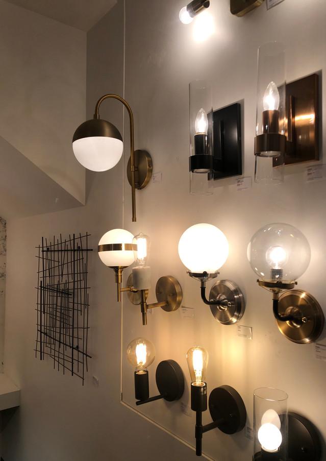 zone maison, lampes murales, murales, applique murale vintage, globe, lampe vintage