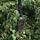 Thumbnail: Purple/Silver Shield Lampwork Pendant