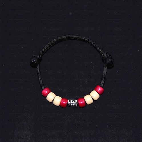 'STRONG' Adjustable Beaded Bracelet - Grounding/Calming/Encouraging