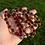 Thumbnail: 'CRANBERRY SPARKLE' Rhythm Beads - Encouraging/Strengthening/Grounding