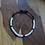 Thumbnail: Beaded ID Dog Necklace - White and Black