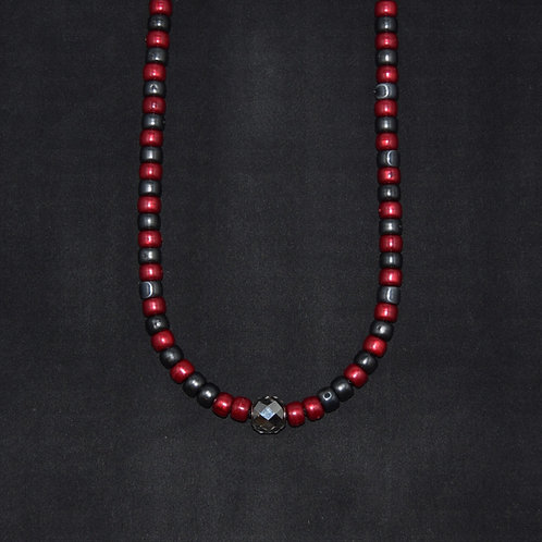 'DARING' Adjustable Beaded Necklace - Encouraging/Balancing