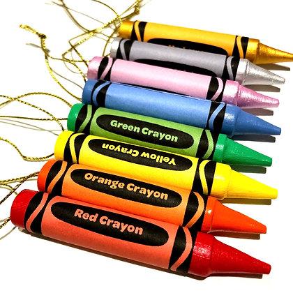 Ceramic Crayon Hanging Decoration