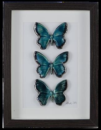 Emerald Butterfly Trio