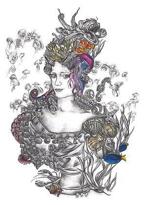 Lady of the Aquarium
