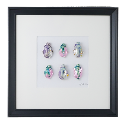 Iridescent Pastel Insect Collection