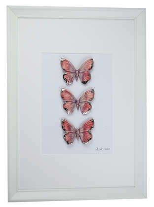 Pink Frosting Butterflies