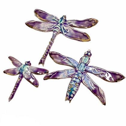Purple Dragonfly Trio