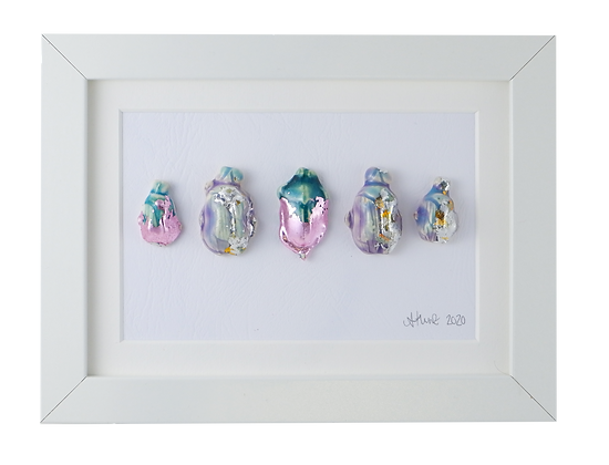 Iridescent Pastel Beetle Collection