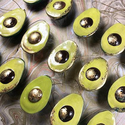 Ceramic Avocado Decoration