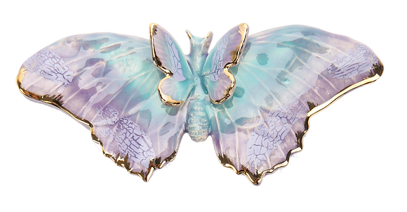 Large Lilac Butterfly
