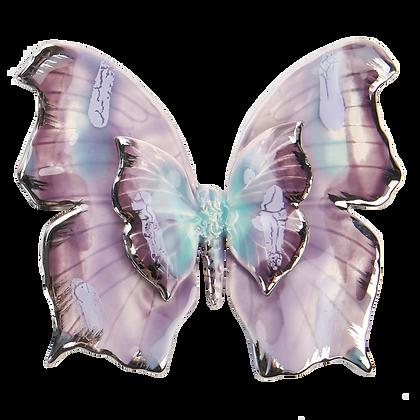 Purple Tropical Butterfly
