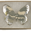 Thumbnail: Black Marbled Butterfly Brooch II