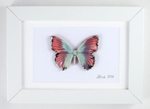 Frozen heart butterfly