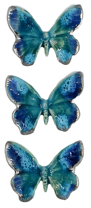 Lagoon Hanging Butterfly Trio