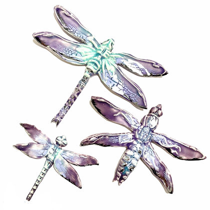 Lilac Dragonfly Trio