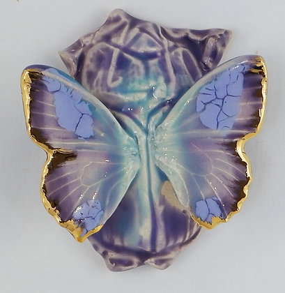 Scalloped Lilac Scarab Beetlefly