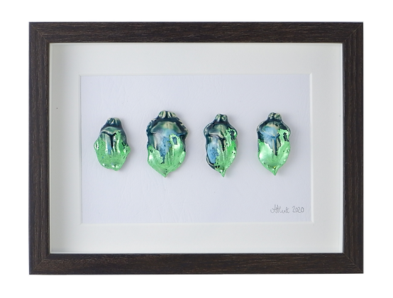 iridescent Green Beetle Collection