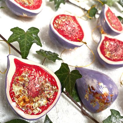 Ceramic Fig Decoration