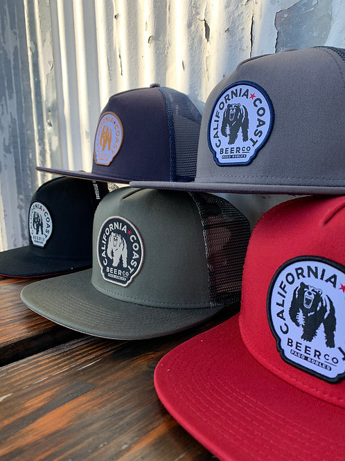 Circle Patch Hat - snapback