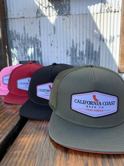 CA Patch Hat - snapback