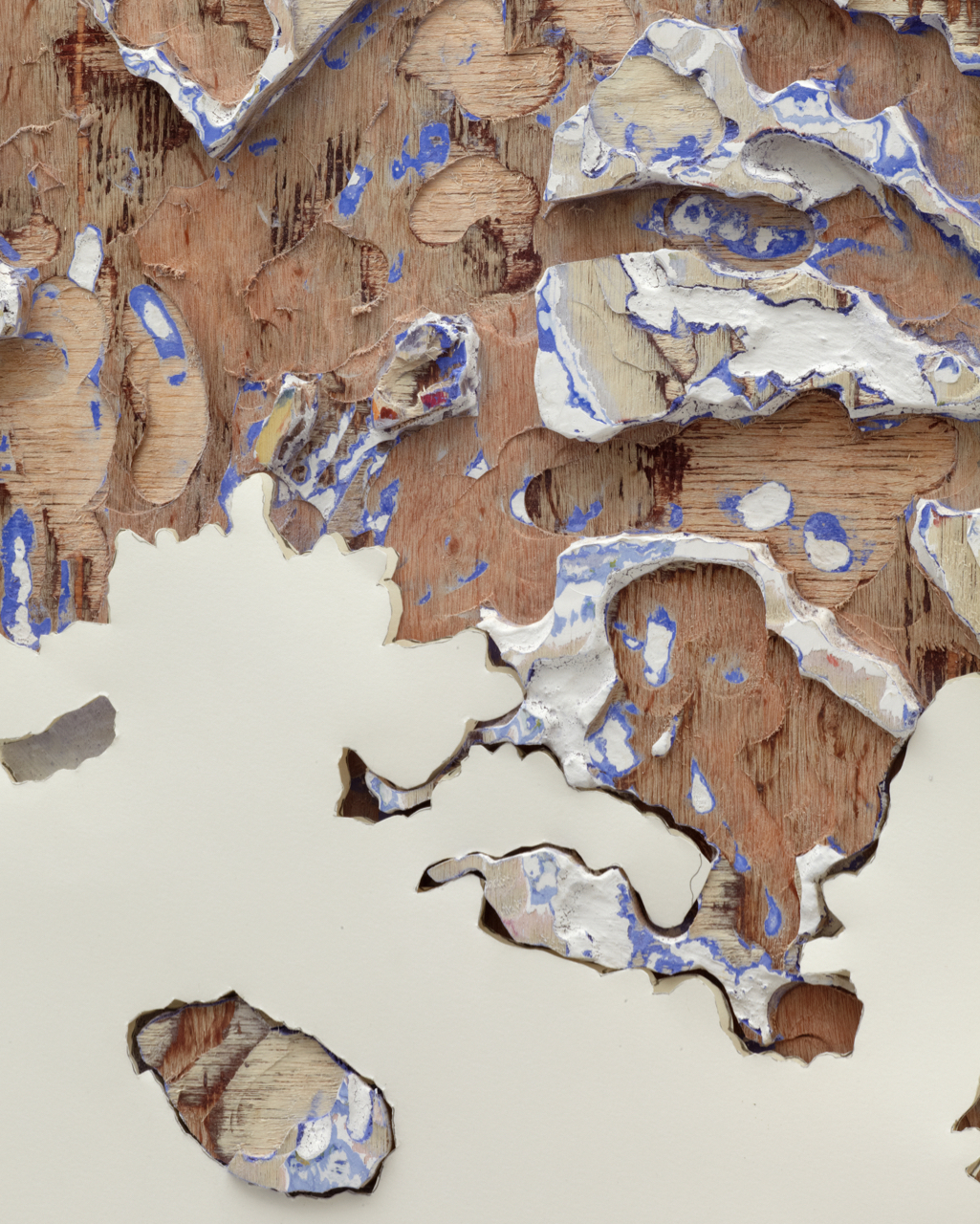 Jigsaw Painting No. 1 2012 (detail)