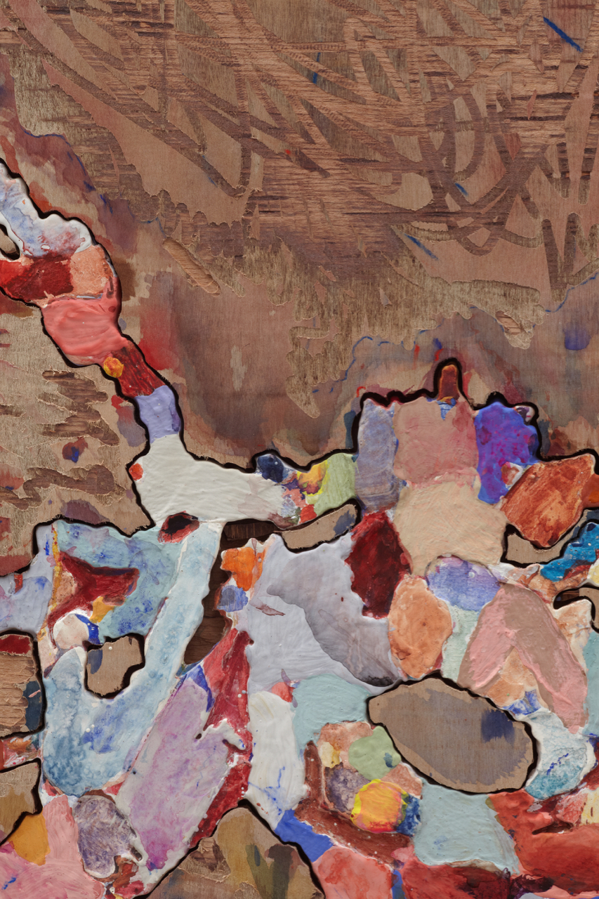 Jigsaw Painting No. 4 (detail)