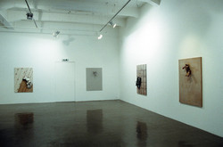 Solo Exhibition. Borders Codes and Crossings 2008