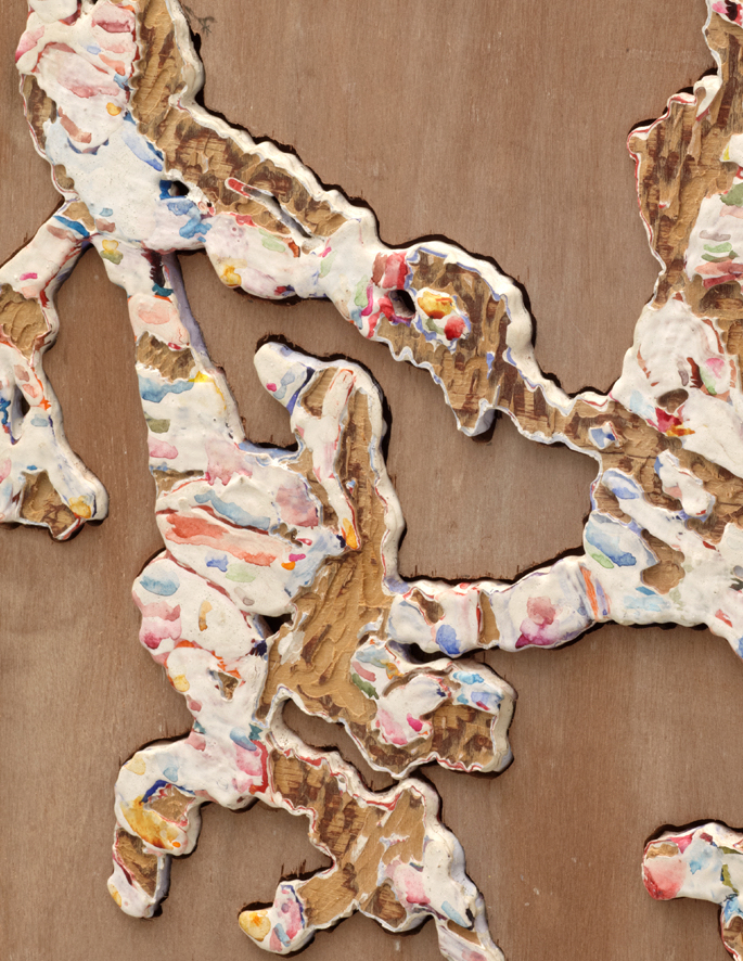 Jigsaw Painting No. 3  2012 (detail)