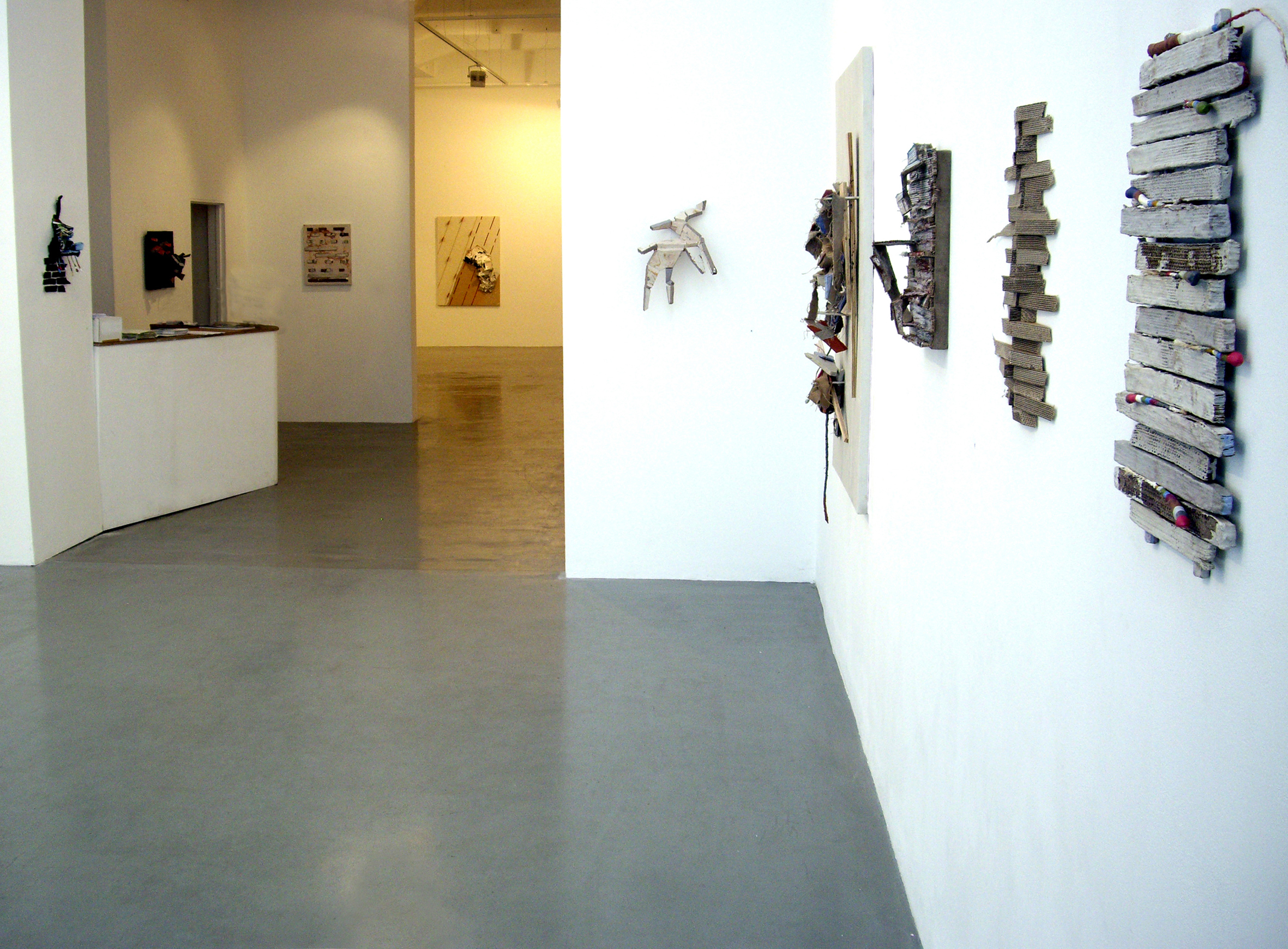 'Borders Codes and Crossings' A.P.T. Gallery, London