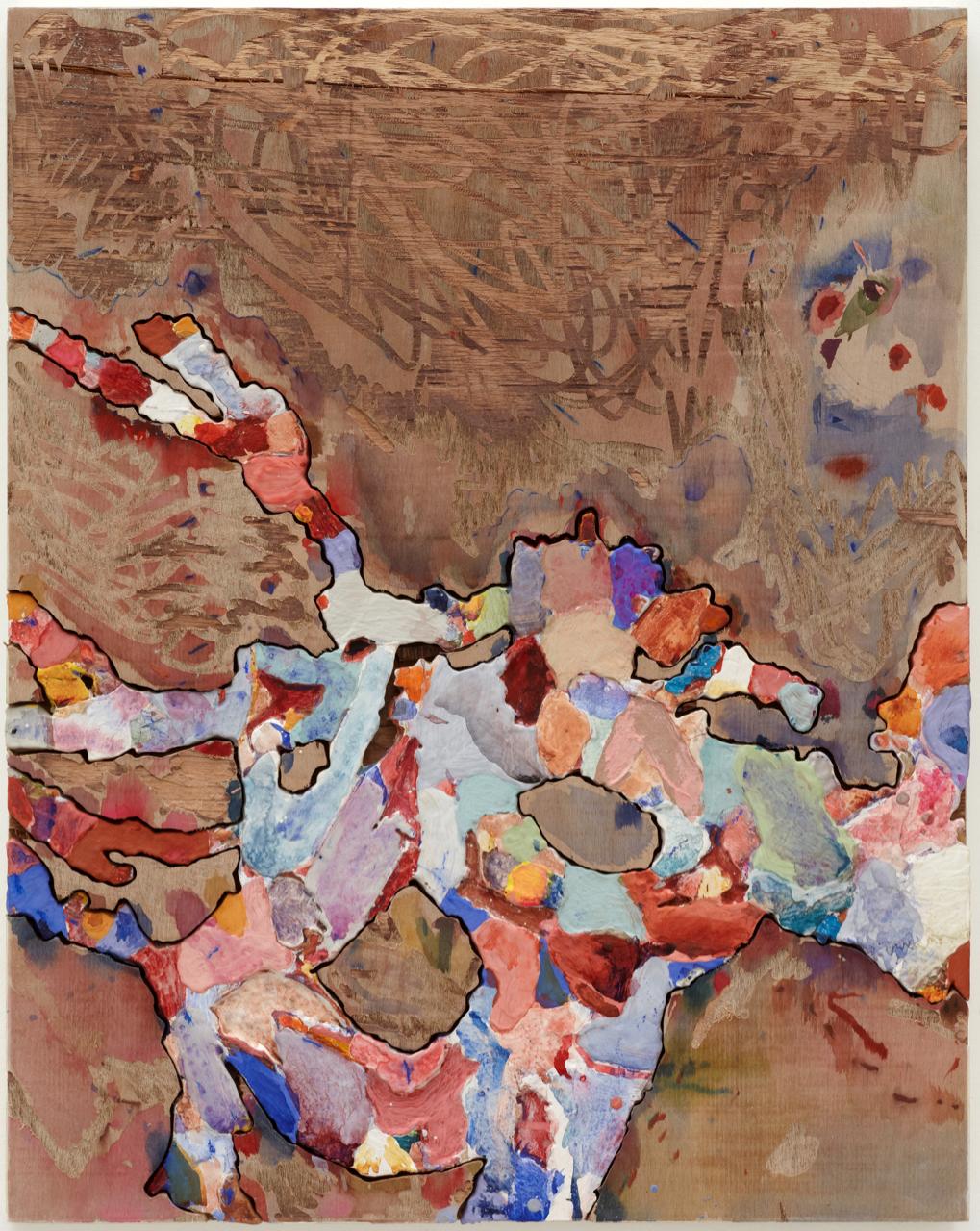 Jigsaw painting No 1
