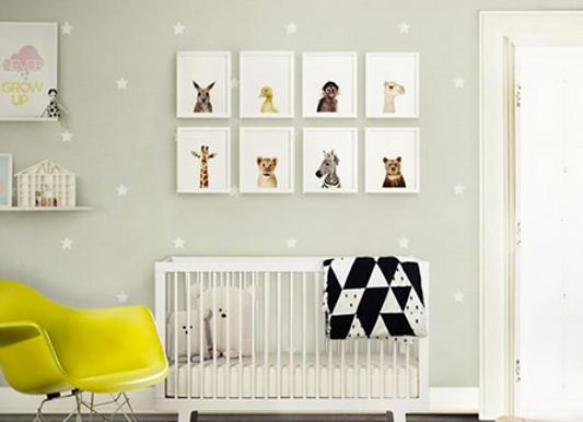 Estrellas blancas, Stickers Murales