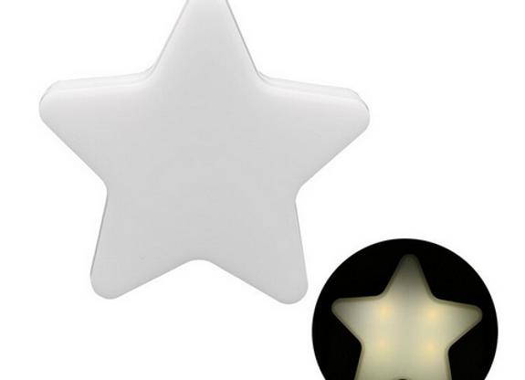 Lámpara de noche, Estrella blanca