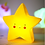 Thumbnail: Lámpara de noche Estrella diseño amarilla