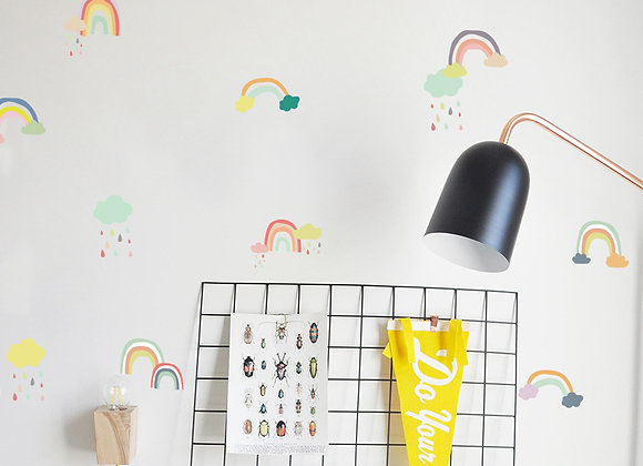 Arcoíris, Stickers Murales